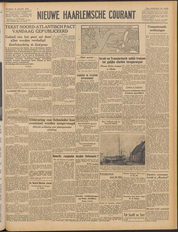 Nieuwe Haarlemsche Courant 1949-03-18