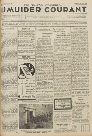 IJmuider Courant 1938-11-26