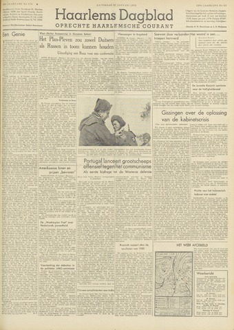 Haarlem's Dagblad 1951-01-27