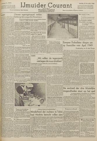 IJmuider Courant 1948-11-13