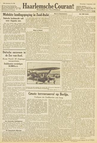 Haarlemsche Courant 1943-09-01