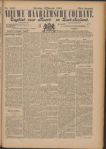 Nieuwe Haarlemsche Courant 1905-01-14