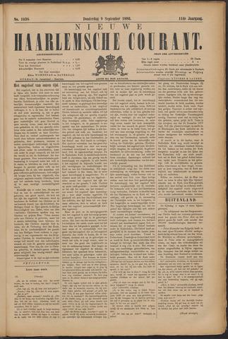Nieuwe Haarlemsche Courant 1886-09-09