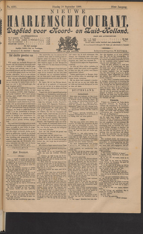 Nieuwe Haarlemsche Courant 1900-09-18