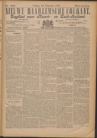 Nieuwe Haarlemsche Courant 1905-02-24