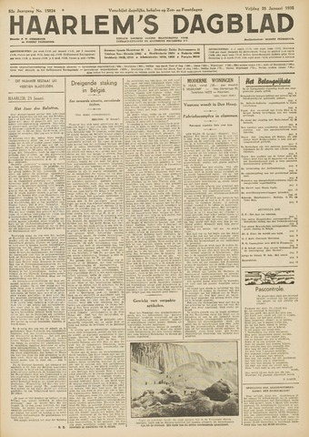 Haarlem's Dagblad 1935-01-25