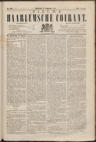 Nieuwe Haarlemsche Courant 1885-08-27