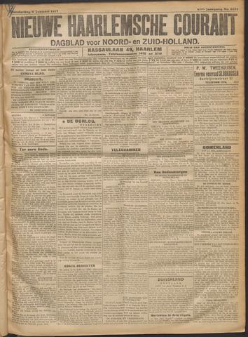 Nieuwe Haarlemsche Courant 1917-01-04