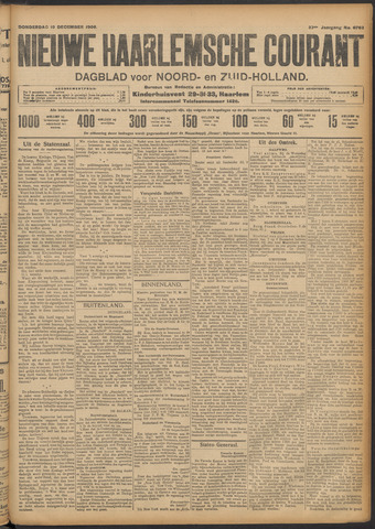 Nieuwe Haarlemsche Courant 1908-12-10