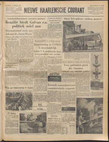 Nieuwe Haarlemsche Courant 1961-02-02