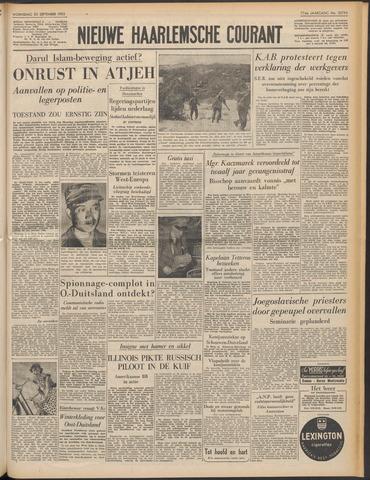 Nieuwe Haarlemsche Courant 1953-09-23