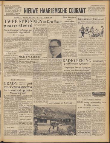 Nieuwe Haarlemsche Courant 1951-08-27