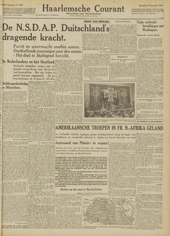 Haarlemsche Courant 1942-11-09