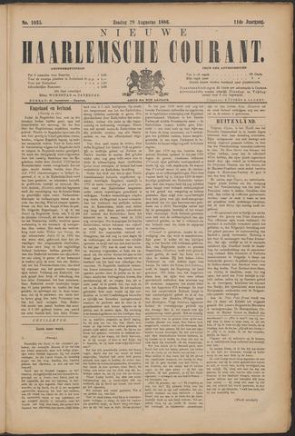 Nieuwe Haarlemsche Courant 1886-08-29
