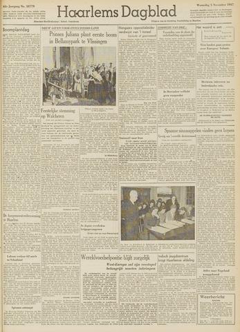 Haarlem's Dagblad 1947-11-05