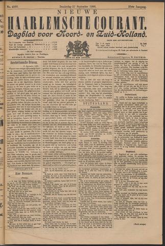 Nieuwe Haarlemsche Courant 1900-09-27