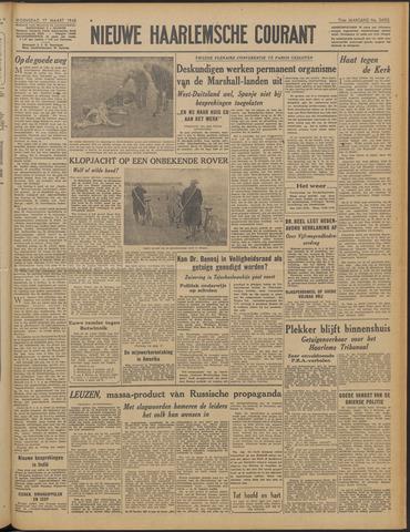 Nieuwe Haarlemsche Courant 1948-03-17