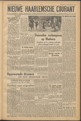 Nieuwe Haarlemsche Courant 1946-09-27