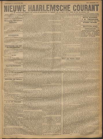 Nieuwe Haarlemsche Courant 1918-08-22
