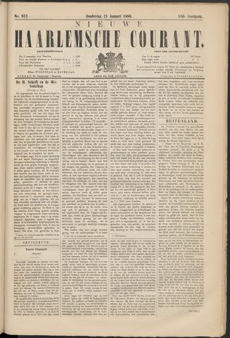 Nieuwe Haarlemsche Courant 1886-01-21