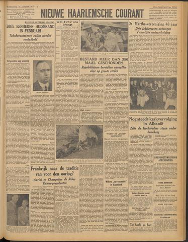 Nieuwe Haarlemsche Courant 1947-01-15