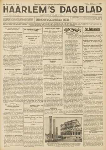 Haarlem's Dagblad 1935-02-15