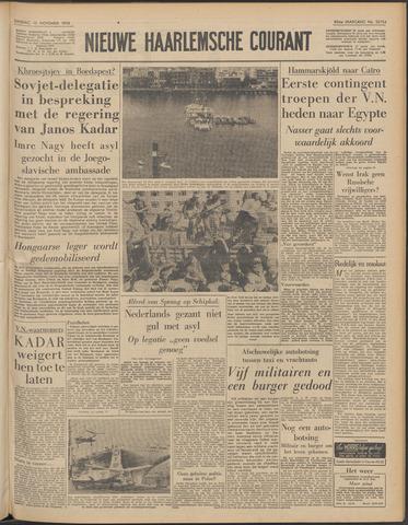 Nieuwe Haarlemsche Courant 1956-11-13