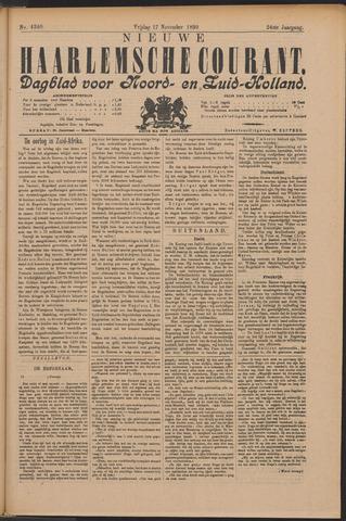 Nieuwe Haarlemsche Courant 1899-11-17