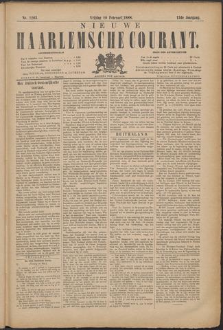 Nieuwe Haarlemsche Courant 1888-02-10