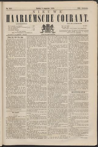 Nieuwe Haarlemsche Courant 1885-08-09