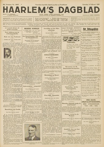 Haarlem's Dagblad 1935-02-09