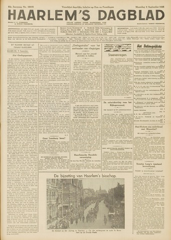 Haarlem's Dagblad 1935-09-09