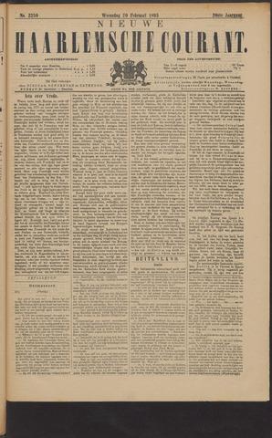 Nieuwe Haarlemsche Courant 1895-02-20