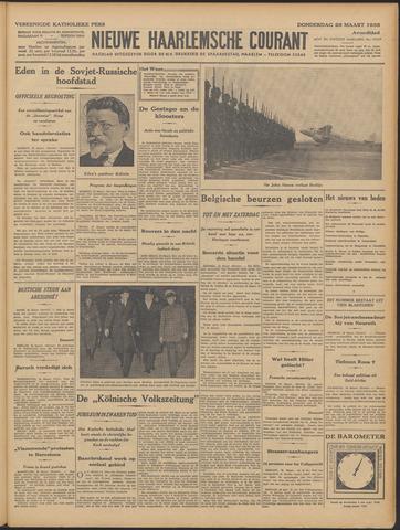 Nieuwe Haarlemsche Courant 1935-03-28