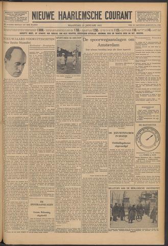 Nieuwe Haarlemsche Courant 1932-01-25
