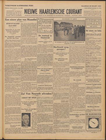 Nieuwe Haarlemsche Courant 1933-03-20