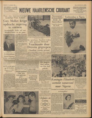 Nieuwe Haarlemsche Courant 1956-01-27