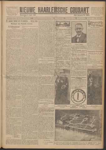 Nieuwe Haarlemsche Courant 1925-04-09