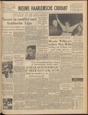 Nieuwe Haarlemsche Courant 1962-08-29