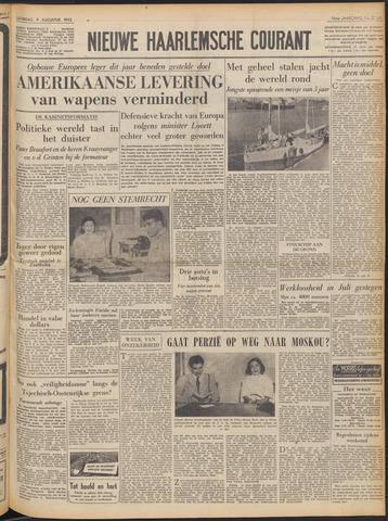 Nieuwe Haarlemsche Courant 1952-08-09