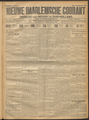 Nieuwe Haarlemsche Courant 1914-05-13