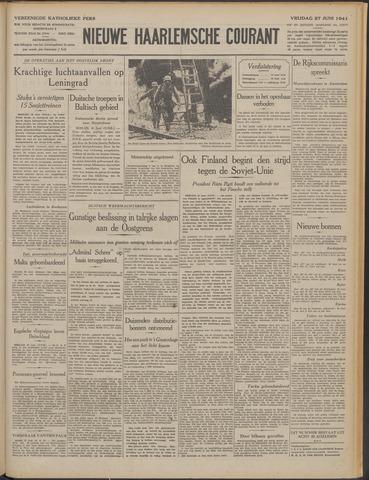 Nieuwe Haarlemsche Courant 1941-06-27