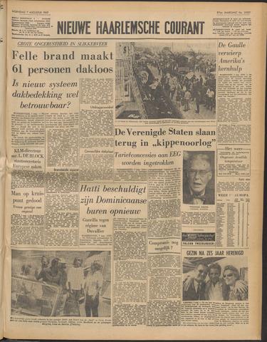 Nieuwe Haarlemsche Courant 1963-08-07