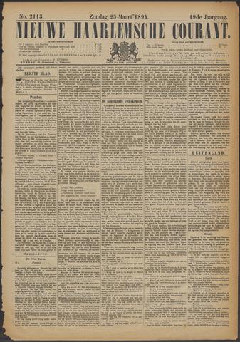 Nieuwe Haarlemsche Courant 1894-03-25