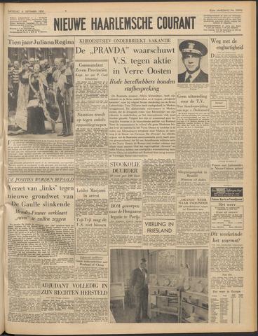 Nieuwe Haarlemsche Courant 1958-09-06