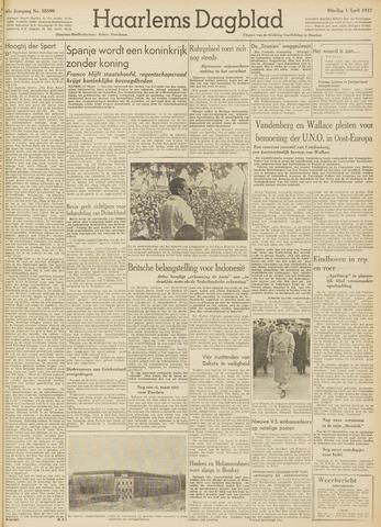 Haarlem's Dagblad 1947-04-01