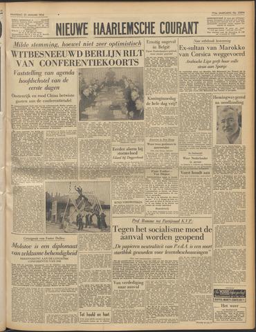 Nieuwe Haarlemsche Courant 1954-01-25