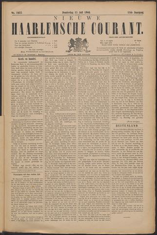 Nieuwe Haarlemsche Courant 1886-07-15