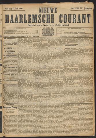 Nieuwe Haarlemsche Courant 1907-07-09