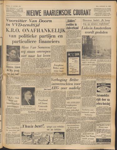 Nieuwe Haarlemsche Courant 1964-10-27